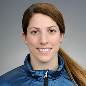 Erin Hamlin headshot.