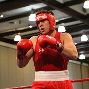 Richard Torrez Jr. boxing.