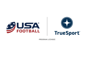 USA Football logo next to TrueSport logo.