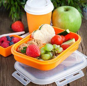 bento box with colorful food