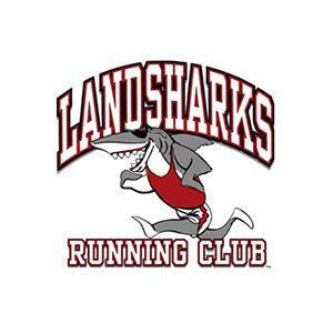 Landsharks Running Club logo.