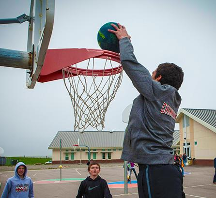big sandy basketball dunk