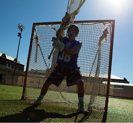 lacrosse goalie