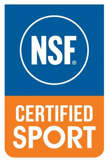 NSF Certified for Sport logo.