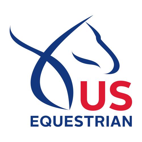 U.S. Equestrian logo.