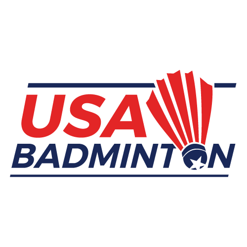 USA Badminton logo.