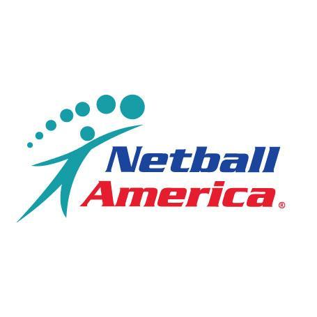 Netball America logo.