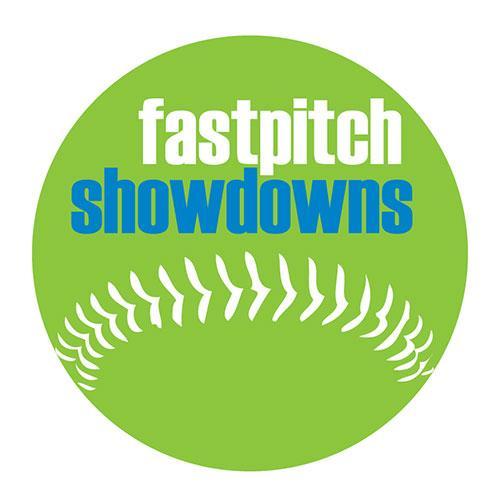 FastPitch Showdowns logo.