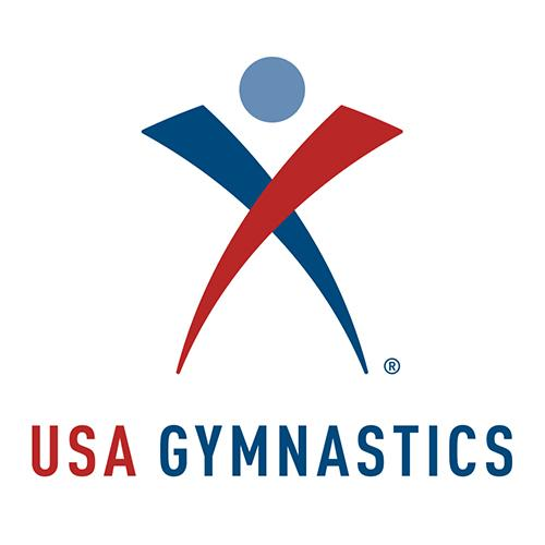 USA Gymnastics logo.