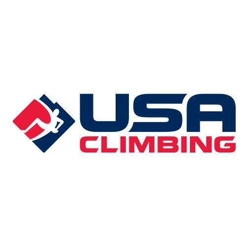 USA Climbing logo.