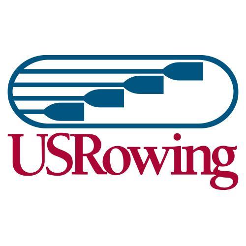 U.S. Rowing logo.