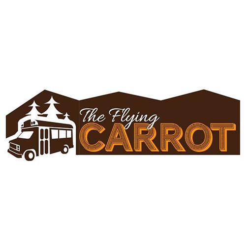 The Flying Carrot logo.