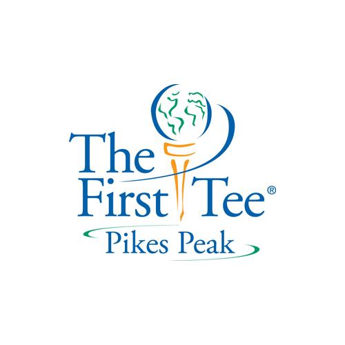 The First Tee Pikes Peak logo.