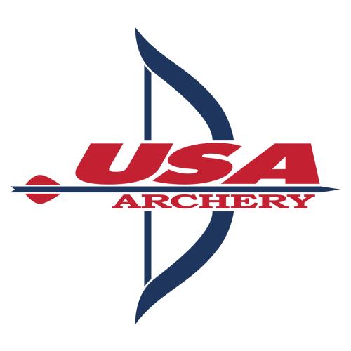 USA Archery logo.