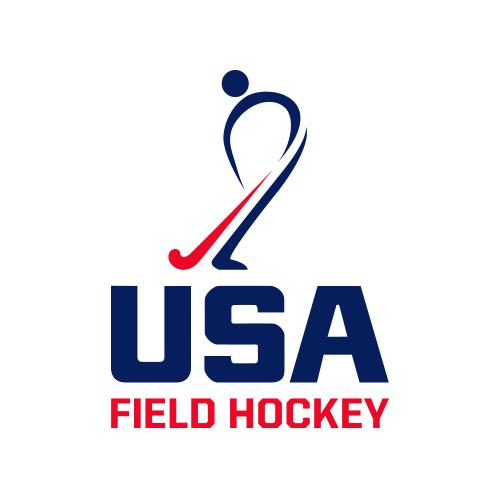 USA Field Hockey logo.
