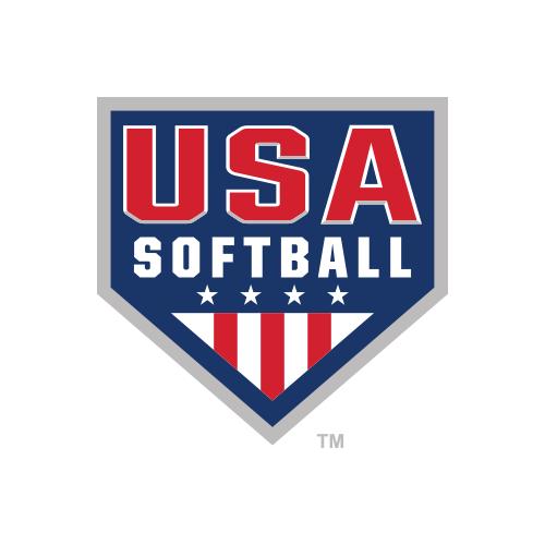 USA Softball logo.
