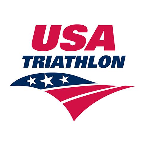 USA Triathlon logo.