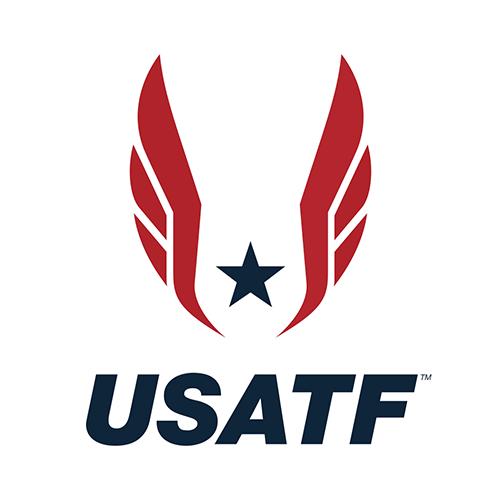 USA Track & Field logo.