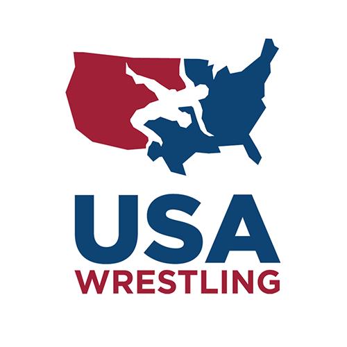 USA Wrestling logo.