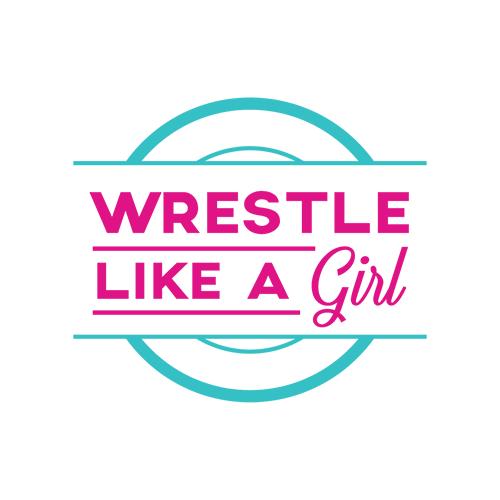 Wrestle like a Girl logo.