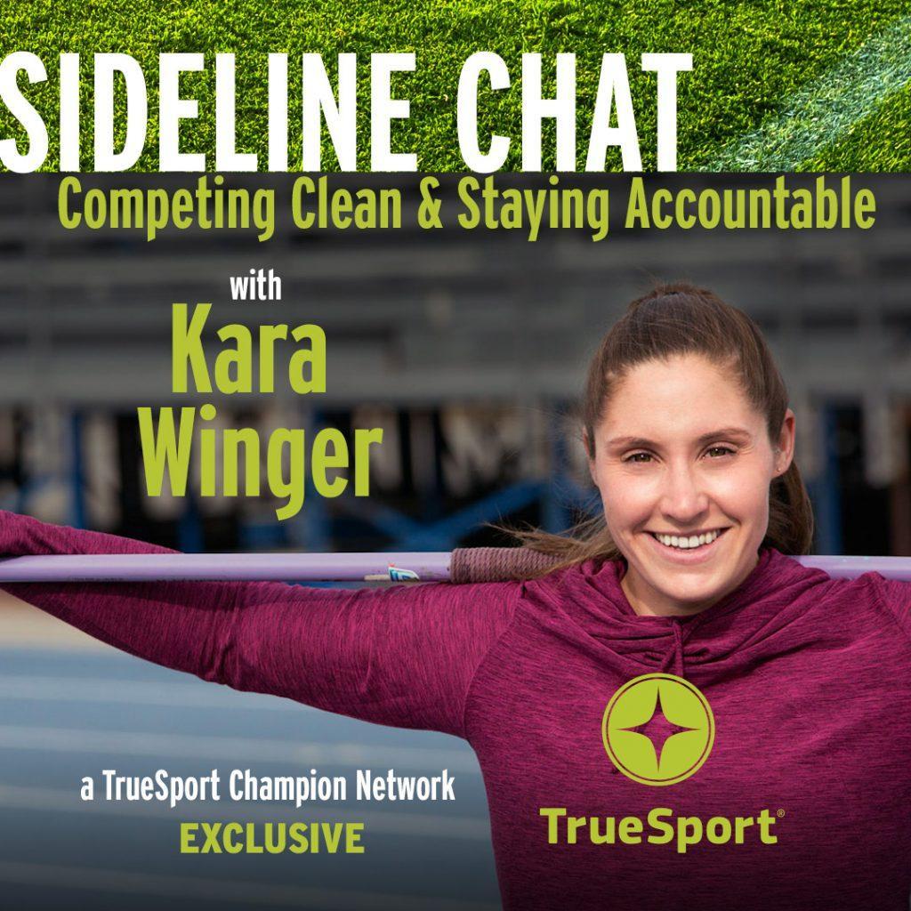 Sideline chat with Kara Winger