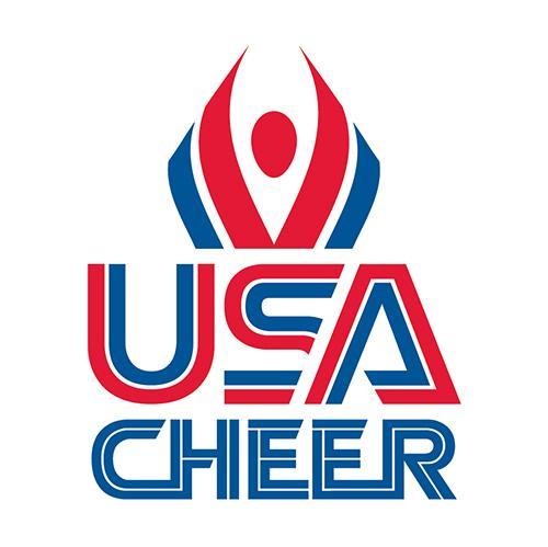 USA Cheer logo.