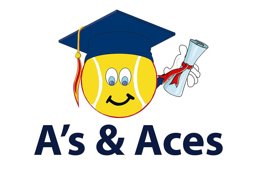 A's and Aces logo.