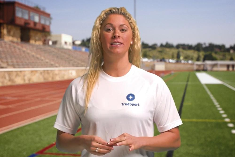 Elizabeth Beisel video still.