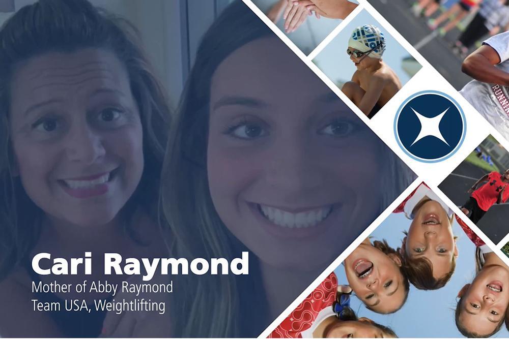 Cari Raymond true story video title still.