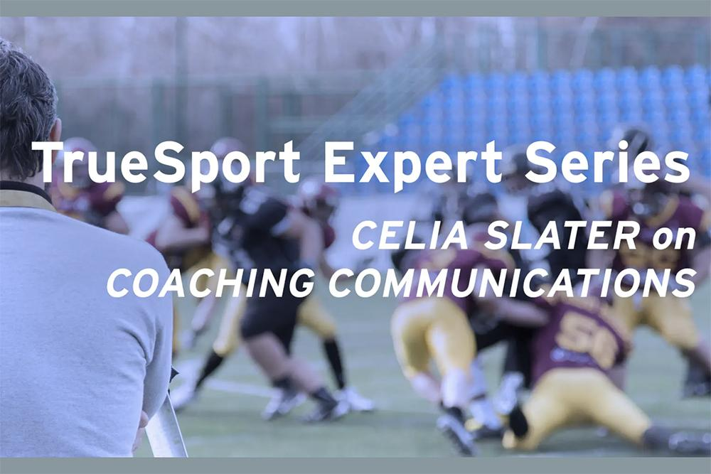 Celia Slater on Coaching Communications.