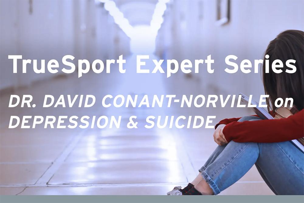 Dr. David Conant-Norville on Depression & Suicide.