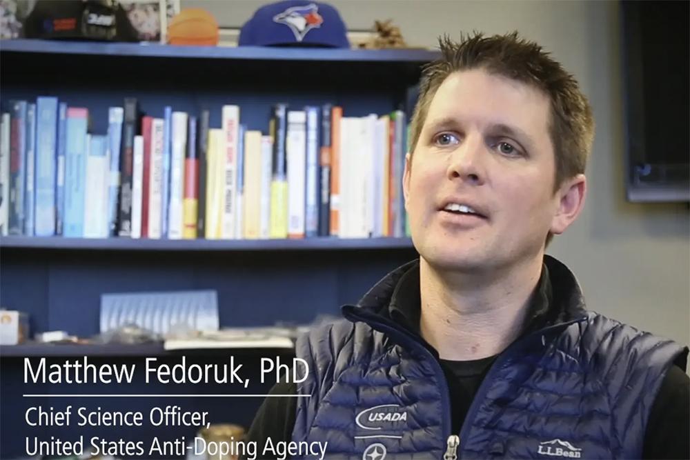 Dr. Matt Fedoruk video still.