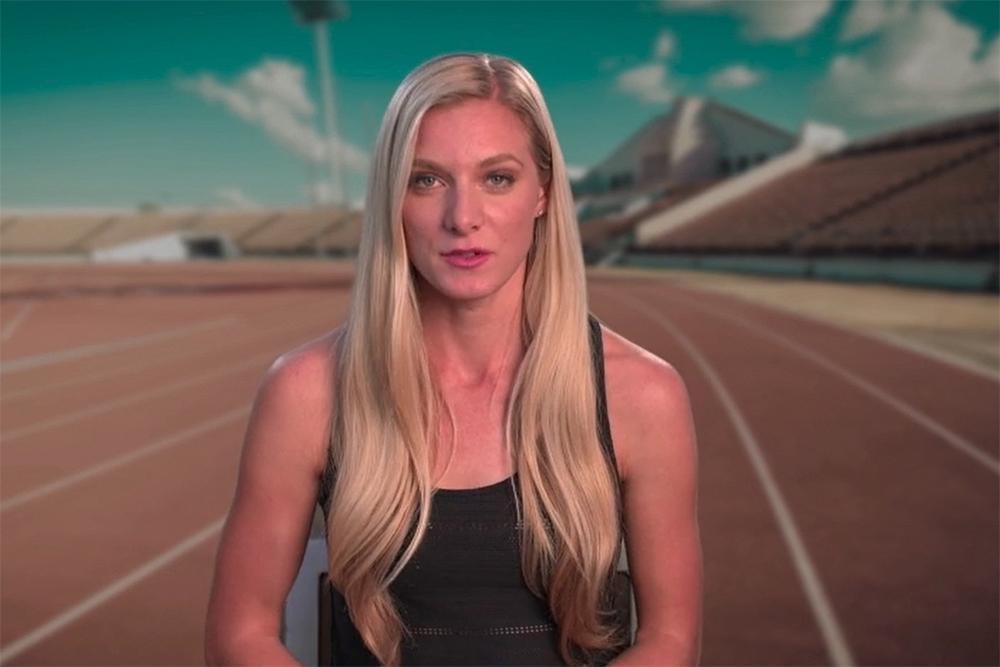 Emma Coburn video still.