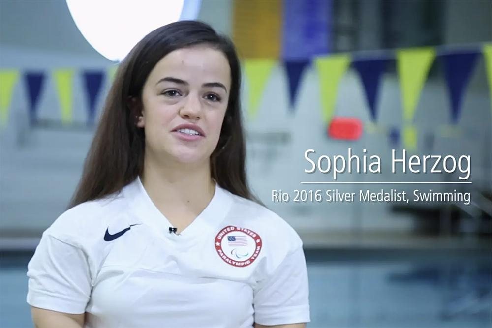 Sophia Herzog video still.