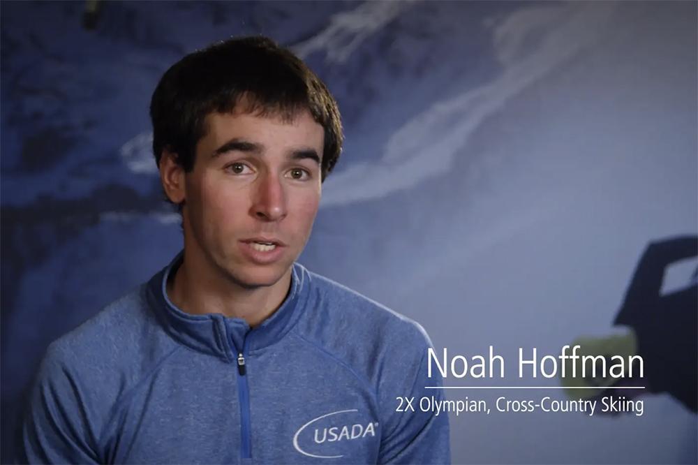 Noah Hoffman video still.
