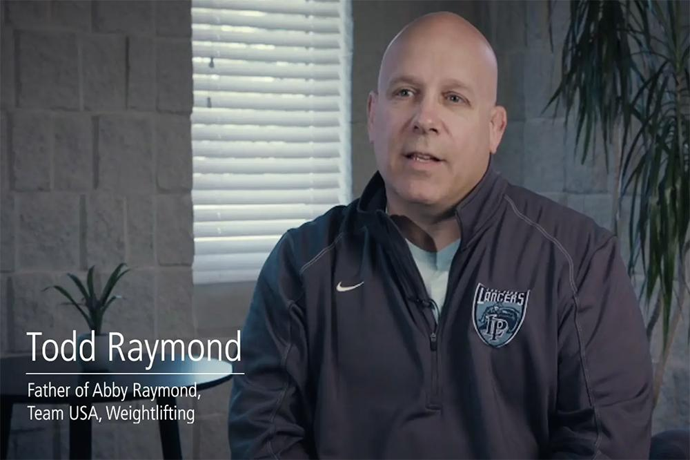 Todd Raymond video still.