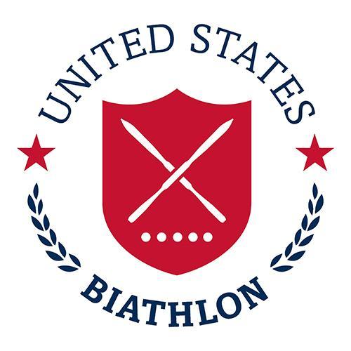 U.S. Biathlon logo.