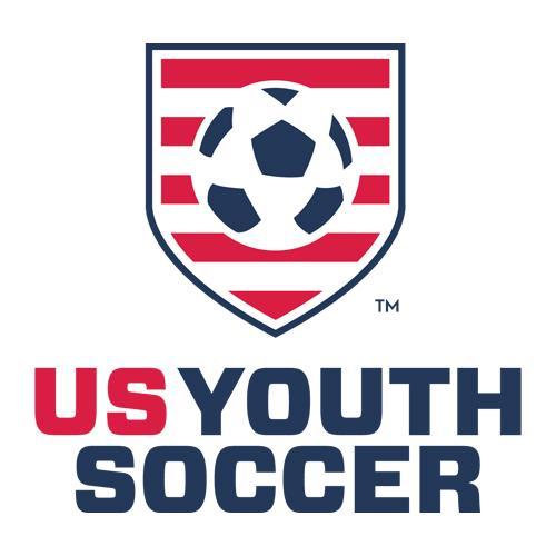 U.S. Youth Soccer logo.
