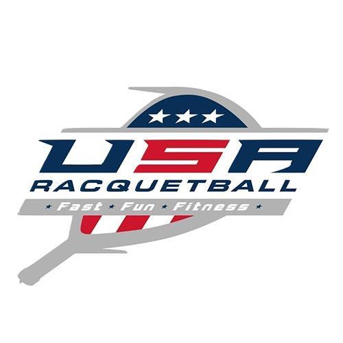 USA Racquetball logo.